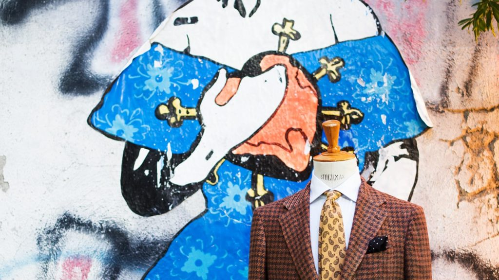 gaiola napoli vestiti made in italy dante street art collection